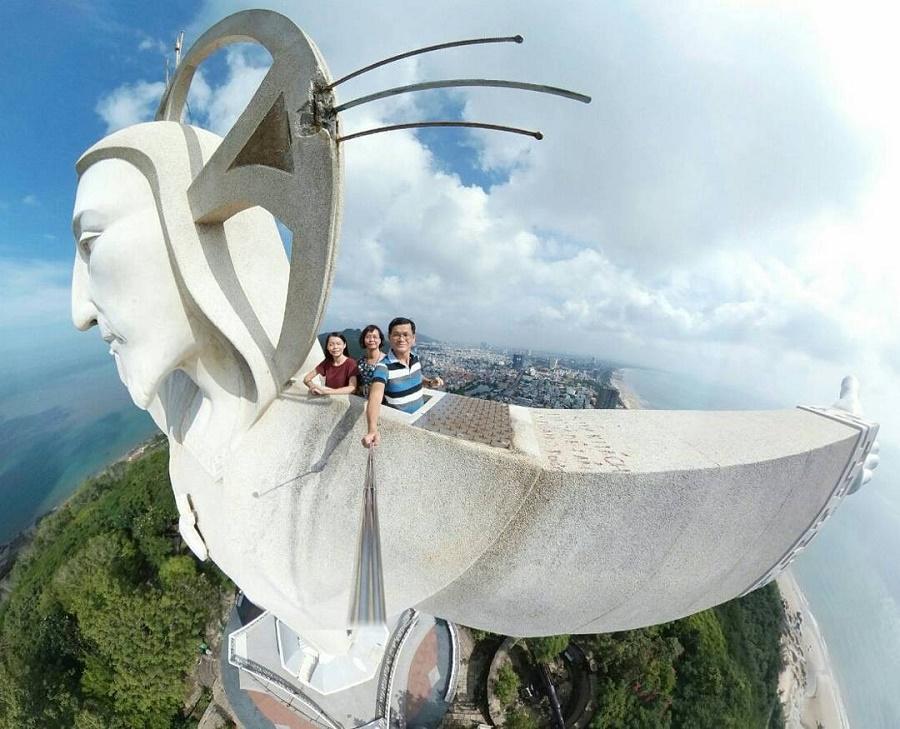 Tượng chúa giang tay ở Vũng Tàu
