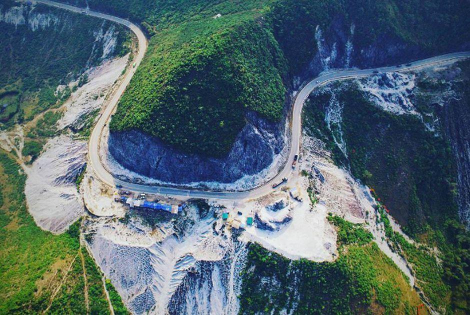 Đường đèo Thung Khe