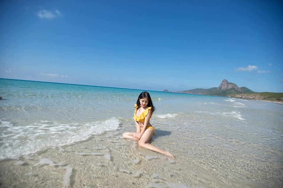 Biển ở đảo Côn Sơn