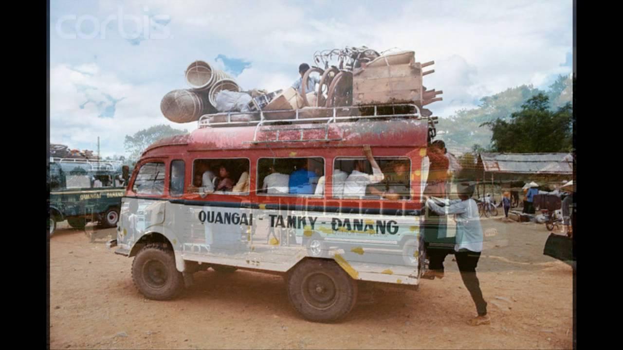 Xe đò Việt Nam xưa
